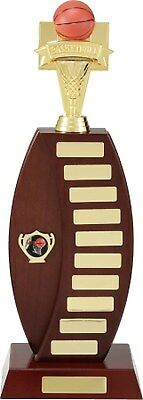 Perpetual Trophy 43cm Timber Veneered