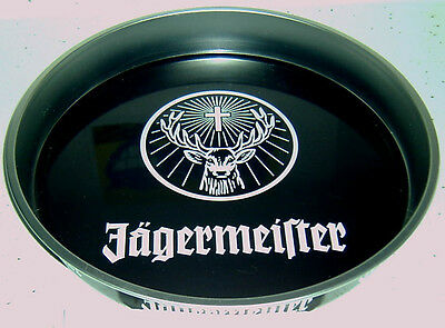 10 Jagermeister Test Tube Shot glasses And Metal Serving Tray