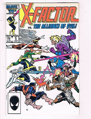X-Factor # 5 NM 1st Print Marvel Comic Book 1st Appearance Of Apocalypse KEY BN4