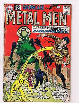 Showcase Presents # 38 GD/VG Feat. The Metal Men Silver Age DC Comic Book J28