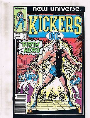 Lot of 7 Kickers Inc. Marvel Comic Books #1 2 3 4 5 6 7 AK8