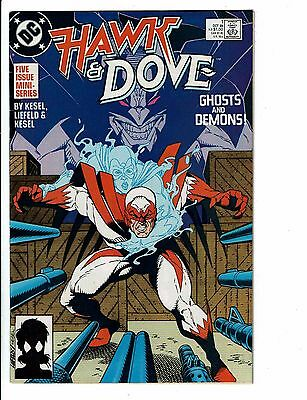 Lot of 5 Hawk and Dove DC Comic Books #1 2 3 4 5 BH23