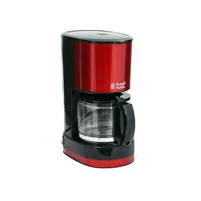 Russell Hobbs Mini Coffee Maker RH-G6669R 1~4 cups Compact Glass teapot  Red New