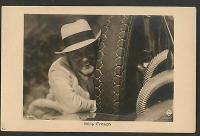WILLY FRITSCH 1920s RARE VINTAGE POSTCARD PHOTO ROSS 6182/1