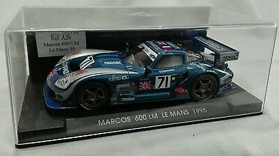 """FLY Slot Ref.A26 MARCOS 600 LM""""Le Mans 1995"""" 1/32"""