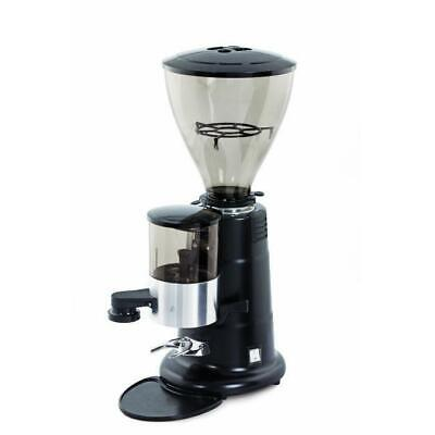 Brand New Macap MXA Auto M/Dose Coffee Grinder in black / chrome