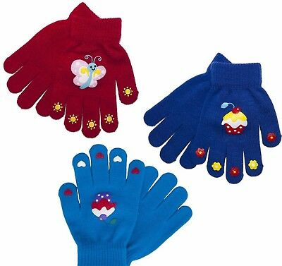Kids Childrens Boys Girls Magic Gloves warmth Comfort Insulated Thermal Glove UK