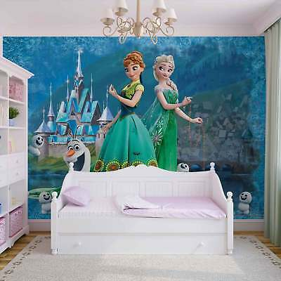WALL MURAL PHOTO WALLPAPER XXL Disney Frozen Anna Elsa Olaf (2959WS)