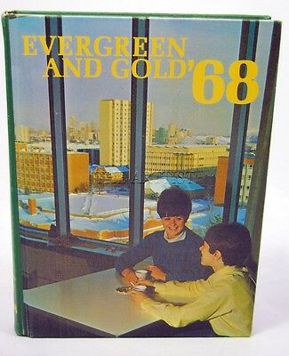 1968 Evergreen And Gold University Of Alberta Yearbook