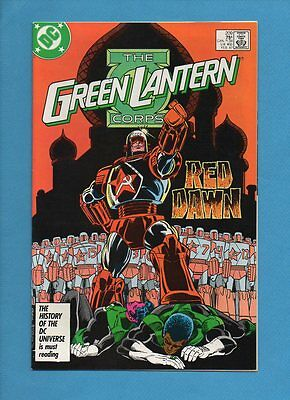 The Green Lantern Corps #209 DC Comics February 1987