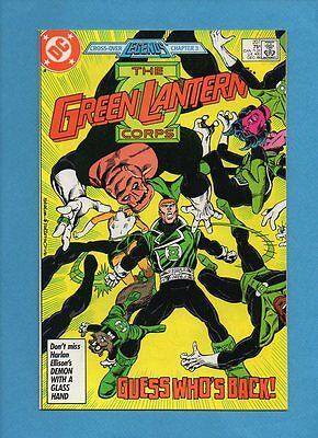 The Green Lantern Corps #207 DC Comics December 1986