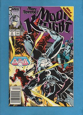 Marc Spector: Moon Knight #8 Marvel Comics December 1989