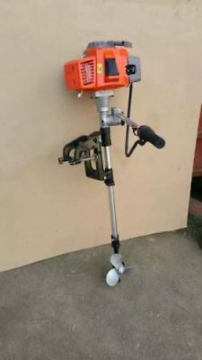3HP 2 Stroke Marine Petrol Outboard Engine Motor Fishing Boat Kayak Air cooled