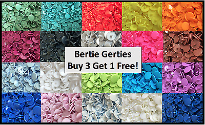 *BUY 3 GET 1 FREE!* T3, Size 16, 10mm kam snaps, poppers, press studs -20/50/100