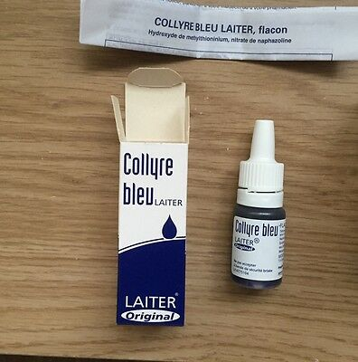 Collyre Bleu Eye Drops