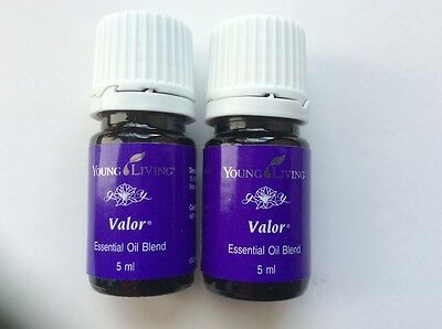 Young Living VALOR  5ml x 2 bottles