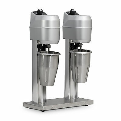 Commercial Stainless Steel Double Milk Shake Drink Mixer Maker