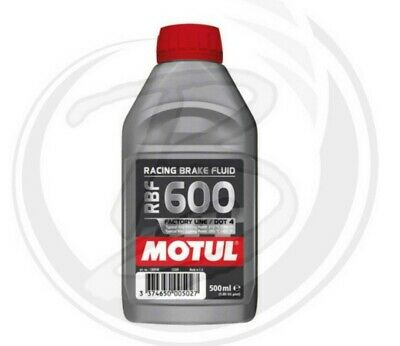 Motul RBF 600 Olio Liquido freni Racing DOT4 500 ml. Synt 100% Brake Fluid Moto