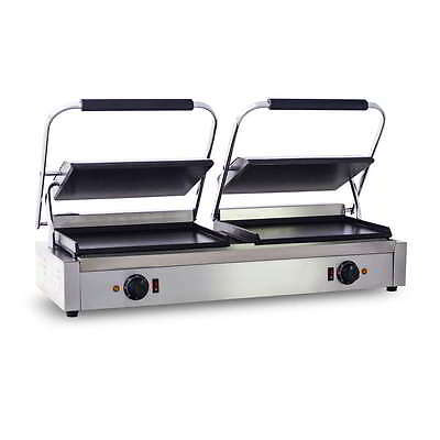 Commercial Double Contact Grill / Sandwitch Press