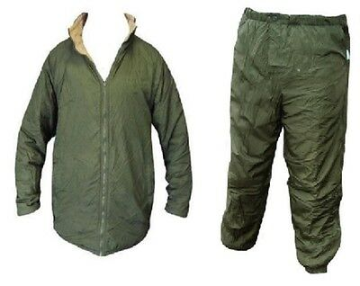British Army - Thermal Softie Reversible JACKET + TROUSERS - Deal - Grade One -