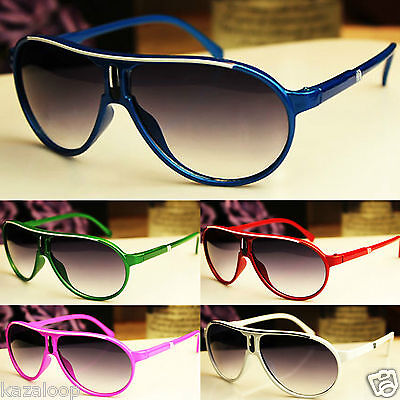 Children Kids Boys Girls Aviator Plastic Frame Pilot Sunglasses