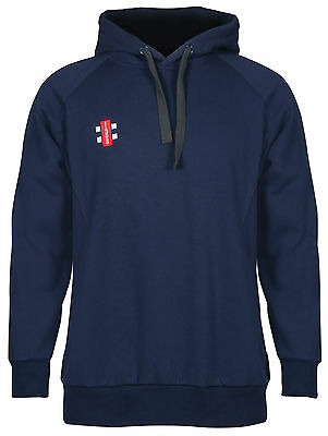 Clearance New Ex- Display Gray Nicolls Cricket Storm Hoodie Navy 11-12 Years