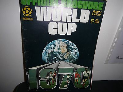Hunter Collier Official Football World Cup 1970 Preview Magazine