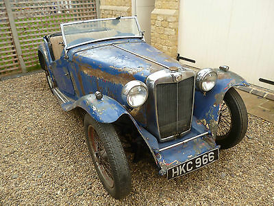 1947 MG TC Restoration Project - Running, New Ash Frame