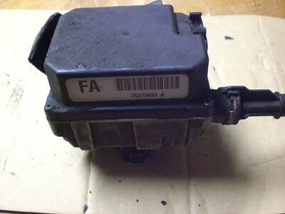 1999 Chevrolet Venture Cruise Control Unit With Cable 25315093 OEM