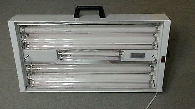 S.A.D. light box. Class 1 medical device. Includes new UV tube.