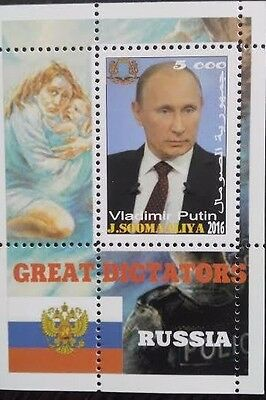 somalia 2016 the great dictators of the world  ex- USSR Russia putin