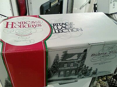 Dept 56 The Dickens village series Start a tradition set of 13
