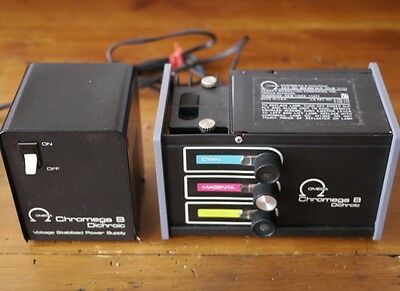 Omega Chromega B Dichroic + Voltage Stabilizer Power Supply for Photo Enlarger
