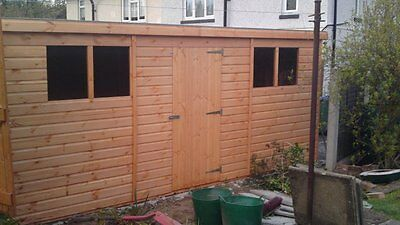 Shedrite's High Quality 14X10 Super Pent Garden Shed