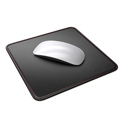 dodocool Tappetino per Mouse Pelle Superficie Mouse Pad PU Base Antiscivolo