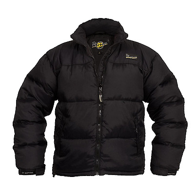 Dr Martens Mens Black Puffa Jacket Duck Down Filled Water Repellent