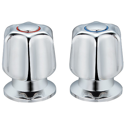 Shaw & Mason BASIN TOP ASSEMBLY WITH STAR STYLE HANDLE Watermark Approved CHROME
