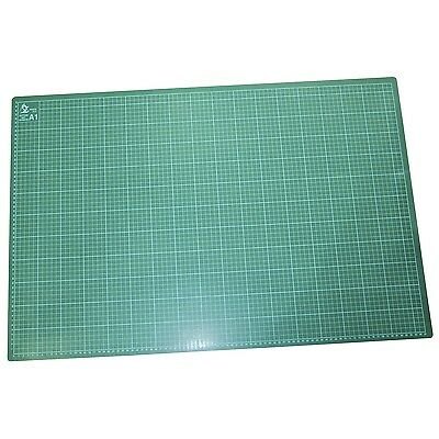 A1 Pro Double Sided Grid Cutting Mat Craft Board Self Healing Non Slip Uk