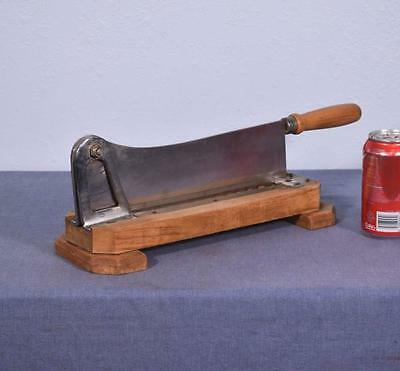 *Vintage French Baguette/Bread Cutter with Serrated Blade