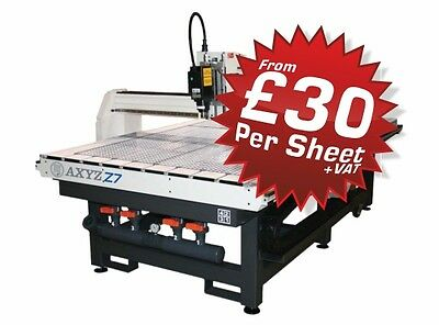 CNC Router services (Brighouse )