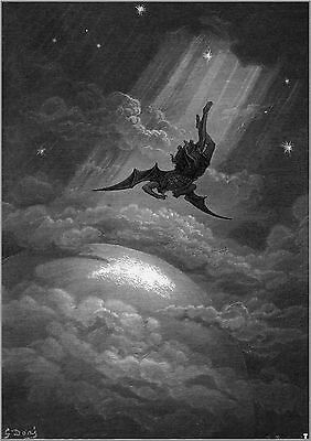 Gustave Dore: Satan from Paradise Lost. Art Print/Poster (0018360)
