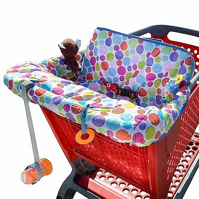 Milliard Shopping Cart Cover, Use As High Chair Cover, Makes The Seat More And