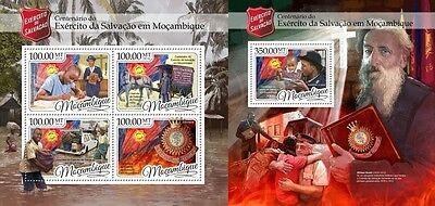 Z08 MOZ16424ab MOZAMBIQUE 2016 Salvation army MNH ** Postfrisch Set