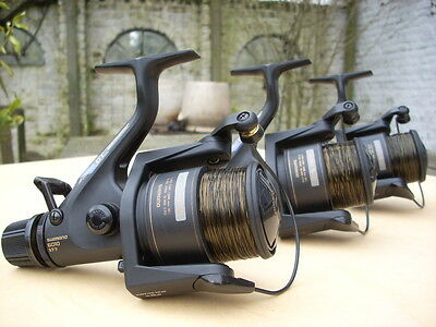 From REBE REELS: 3x Shimano baitrunner aero GT6010 XT-7 dynabalance EXCELLENT!