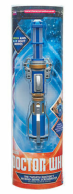 12th Doctor Who Peter Capaldi NEW VERSION Sonic Screwdriver Prop/Toy NEW INSTOCK