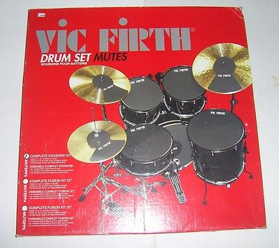 Vic Firth Drum Mute Prepack with Mutes.   Hi-hat