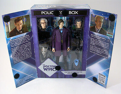 Doctor Who 'Time of the Doctor' Collectors Action Figure Set NEW 11th/12th Dr
