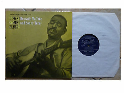 SONNY TERRY & BROWNIE McGEE * DOWN HOME BLUES * US  BLUESVILLE 1002 PLAYS GREAT