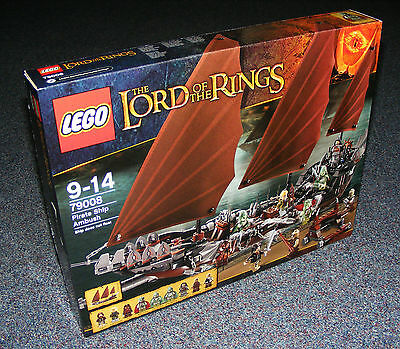 Lord Of The Rings Lego 79008 Pirate Ship Ambush Brand New Sealed