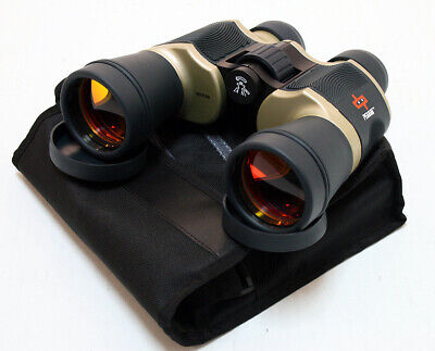 Perrini New 20x60 Zoom Binoculars Extremely High Quality Ruby Lense With Pouch